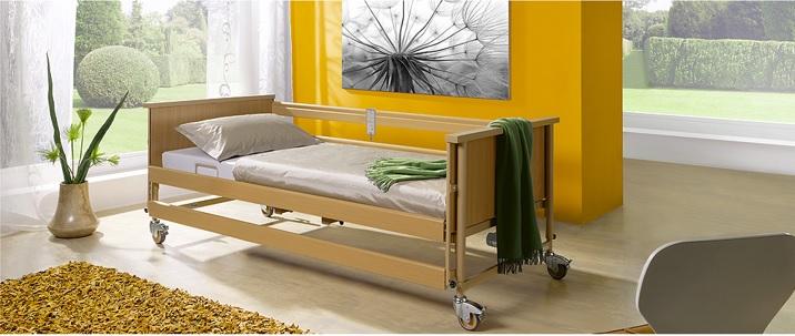 Електрическо болнично легло с четири секции – Economic II